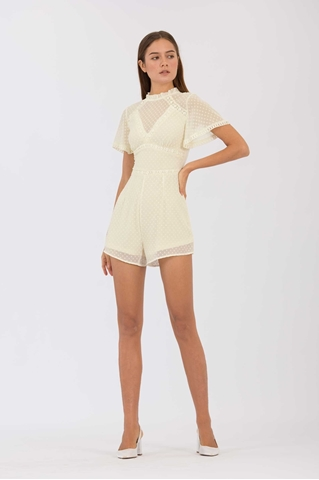 Show details for Damiator Romper (Cream)