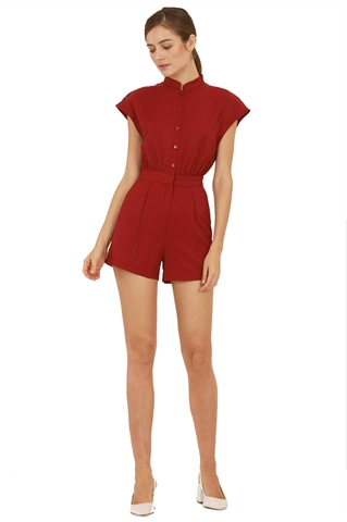 Picture of Dolievin Romper (Dull Red)