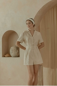 Picture of Dolierij Romper (Natural Linen)
