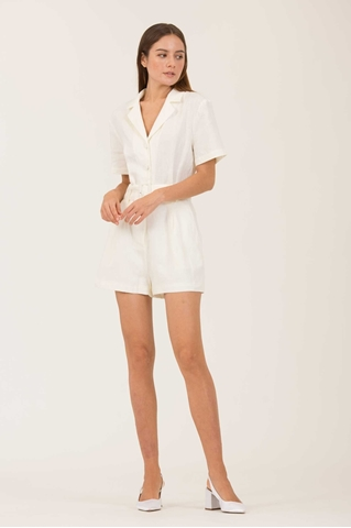 Show details for Dolierij Romper (White)