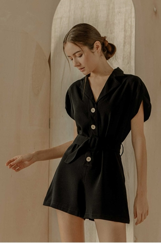 Picture of Duriavis Romper (Black)