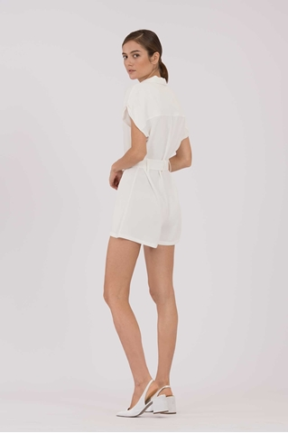 Show details for Duriavis Romper (White)