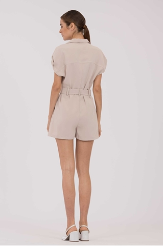 Show details for Duriavis Romper (Sand)